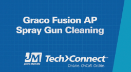 JM AP Fusion Spray Foam Gun Cleaning and Assembly
