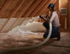 Johns Manville Climate Pro Insulation Attic Install