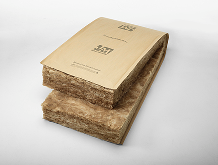 Kraft faced batts and rolls for Batt insulation r values