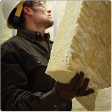 Johns Manville Mineral Wool Insulation installation