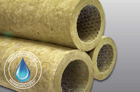 Minwool 1200 pipe for Mineral fiber pipe insulation